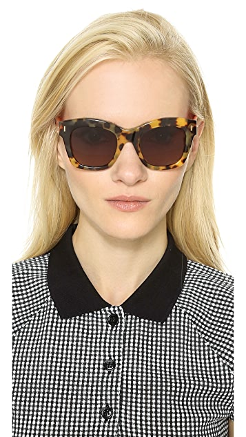 Fendi Thick Frame Sunglasses