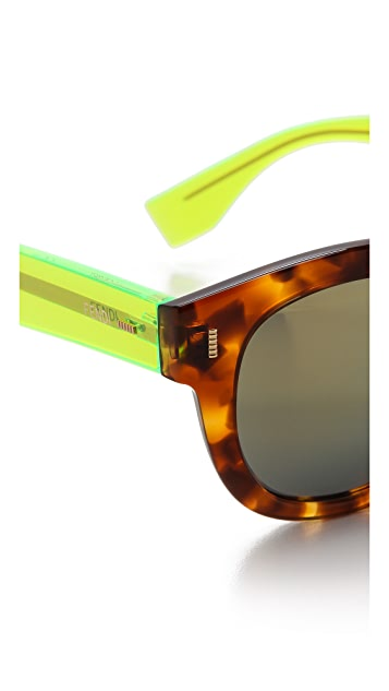 Fendi Mirrored Sunglasses