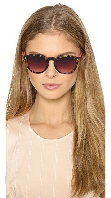 Fendi Tortoise Bright Side Sunglasses