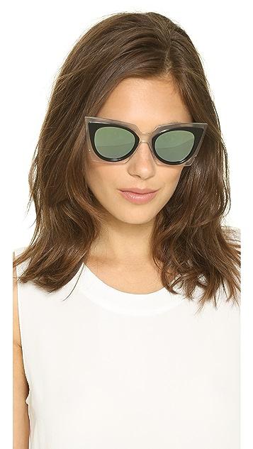 Fendi Яркие эффектные солнцезащитные очки