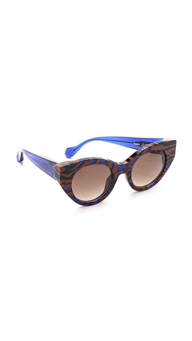6343c025afe Fendi Thierry Lasry X Fendi Cat Eye Sunglasses