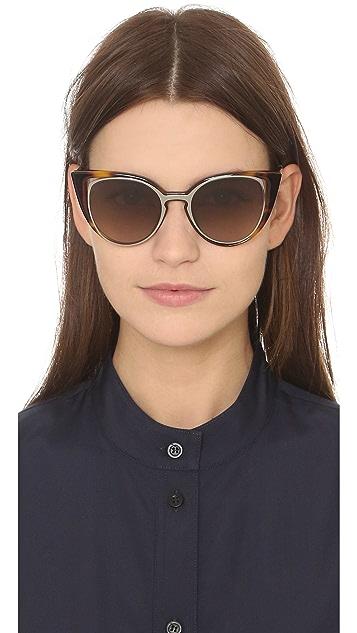 c671e6f58f07b ... Fendi Cutout Cat Eye Sunglasses ...
