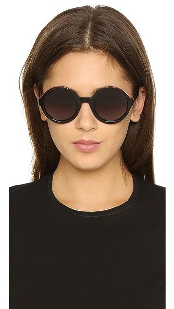 d47f352e Color Flash Round Sunglasses