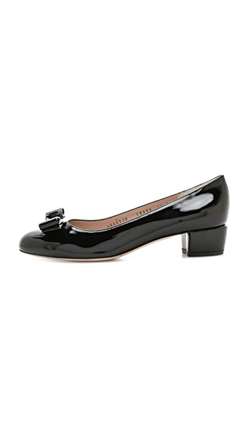 Salvatore Ferragamo Vara Low Pumps