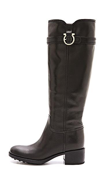 Salvatore Ferragamo Robespierre Tall Boots