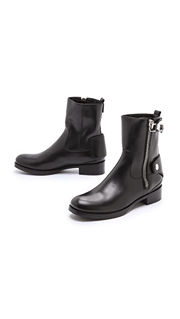 Salvatore Ferragamo Rebel Booties