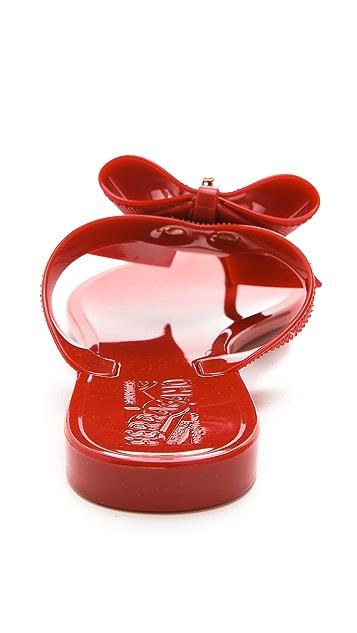 Salvatore Ferragamo Bali Jelly Thong Sandals