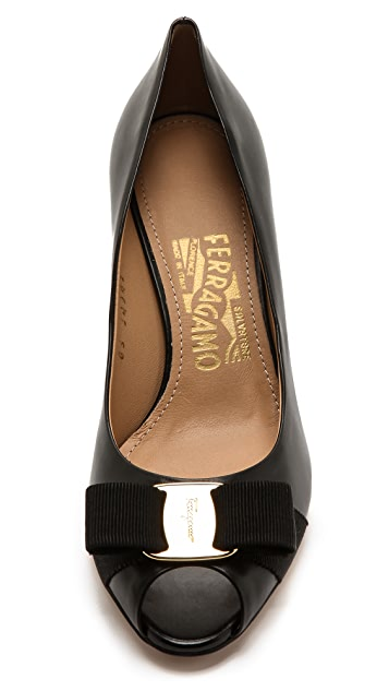 Salvatore Ferragamo Sissi Wedge Pumps