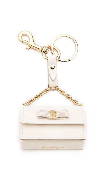 Salvatore Ferragamo Mini Ginny Keychain