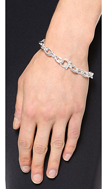Salvatore Ferragamo Catena Chain Bracelet