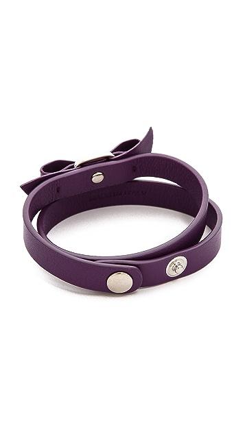 Salvatore Ferragamo Bracciali Pelle Bracelet