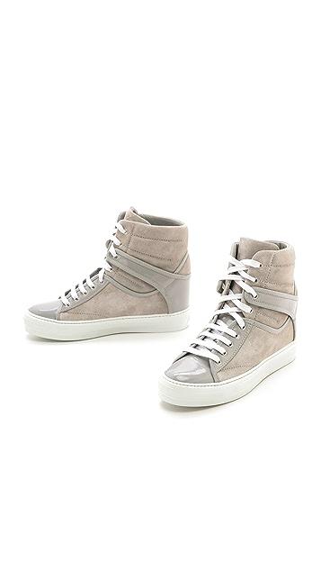 Salvatore Ferragamo Nicky High Top Sneakers