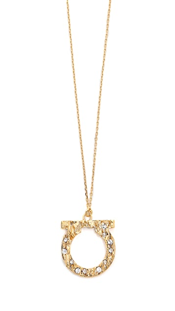 Salvatore Ferragamo Fusion Long Necklace