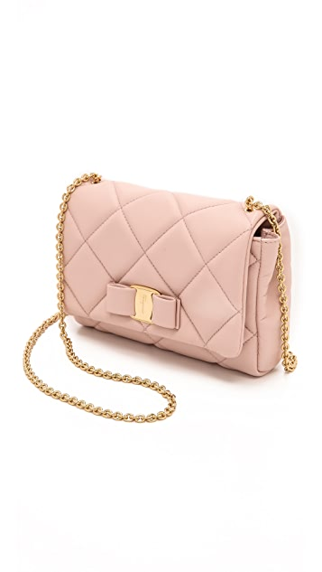 Salvatore Ferragamo Miss Vara Quilted Mini Bag