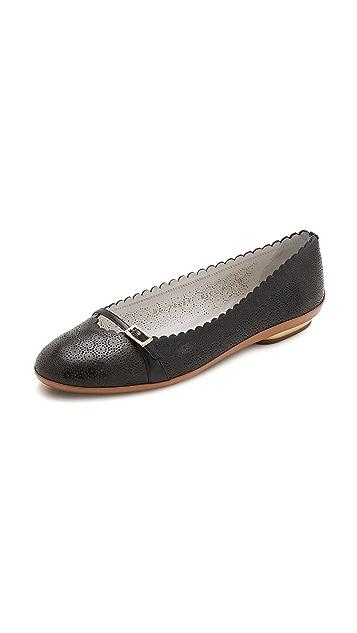 88df49220 Salvatore Ferragamo Audrey Lace Ballet Flats | SHOPBOP