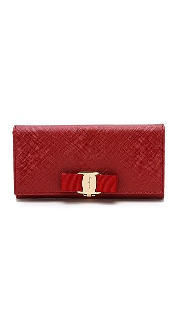 Salvatore Ferragamo Miss Vara Bow Wallet
