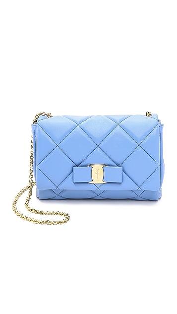 f14b4fe0678d Salvatore Ferragamo Miss Vara Shoulder Bag