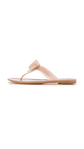 Salvatore Ferragamo Pandy Jelly Thong Sandals