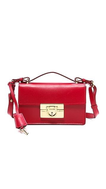 7c30a1dea589 Salvatore Ferragamo Aileen Shoulder Bag