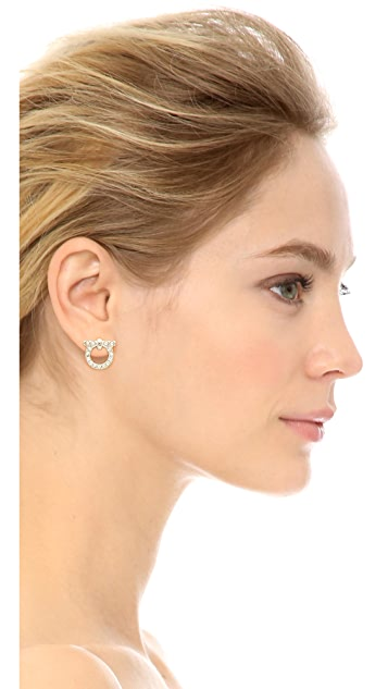 Salvatore Ferragamo Orecchini Gancio Earrings