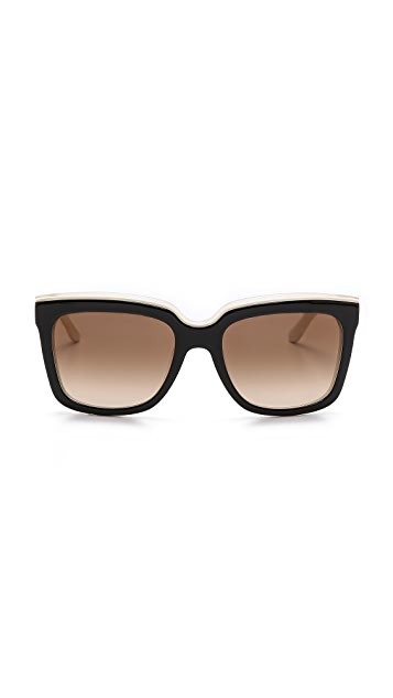 Salvatore Ferragamo Colorblock Sunglasses