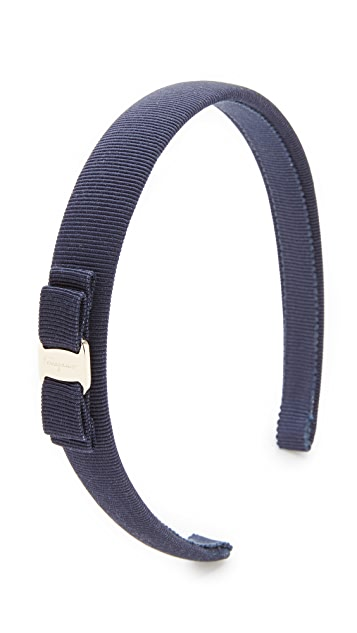 Salvatore Ferragamo Vara Thin Headband