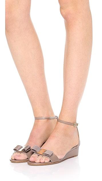 Salvatore Ferragamo Margot Wedge Sandals