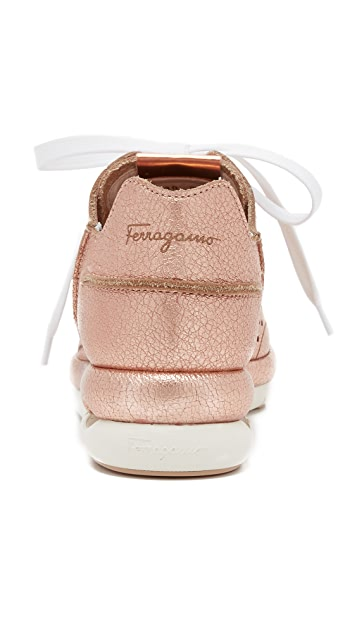 Salvatore Ferragamo Gils Runner Sneakers