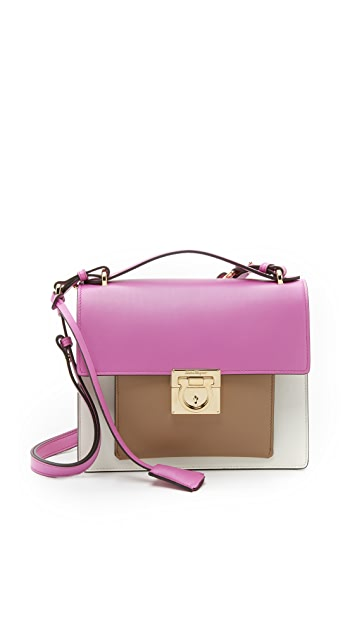 Salvatore Ferragamo Small Marisol Shoulder Bag