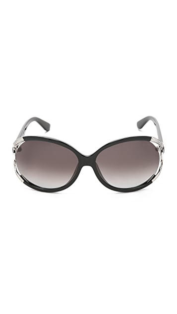 Salvatore Ferragamo Gancino Vented Sunglasses