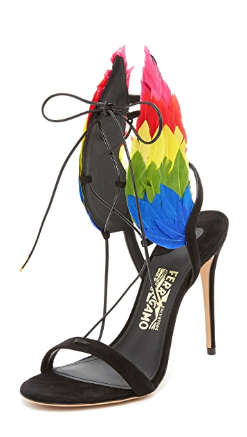 Salvatore Ferragamo Edgardo Osorio x Salvatore Ferragamo Dream Sandals