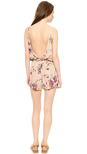 FAITHFULL THE BRAND Soulmate Playsuit