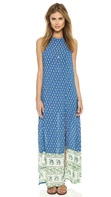 FAITHFULL THE BRAND Mirror Door Maxi Dress