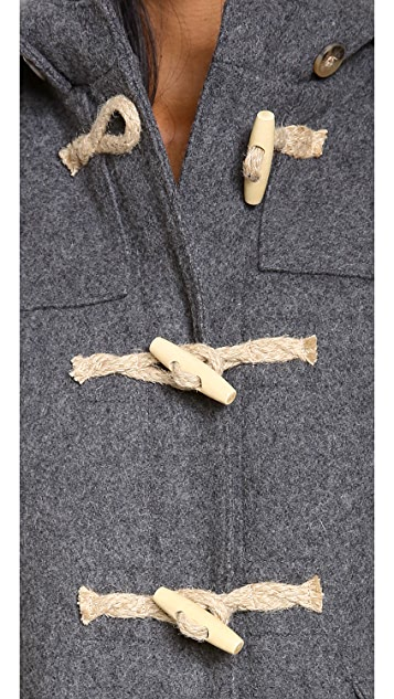 Gerald & Stewart by Fidelity Wool Toggle Coat