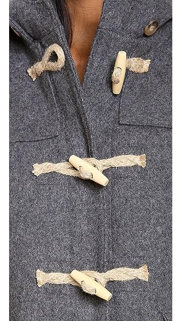Gerald & Stewart by Fidelity Wool Toggle Coat