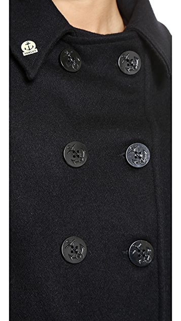 Gerald & Stewart by Fidelity Wool Short Pea Coat