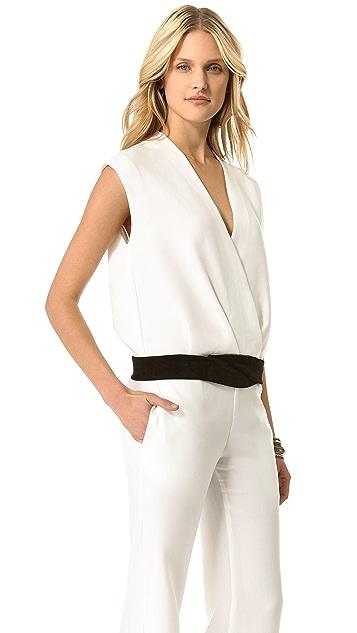 5th & Mercer Sleeveless Jumpsuit