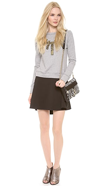 5th & Mercer Ponte Skirt