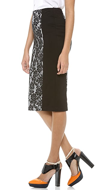 5th & Mercer Pencil Skirt
