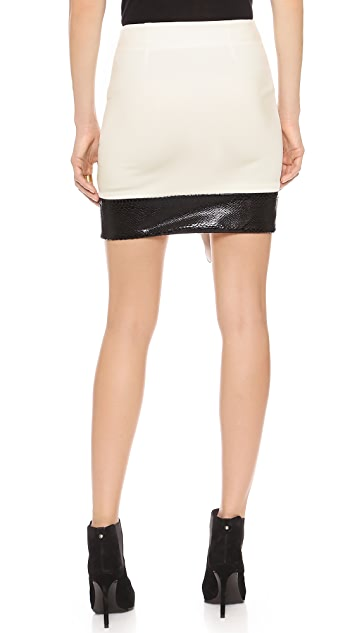 5th & Mercer Asymmetrical Skirt