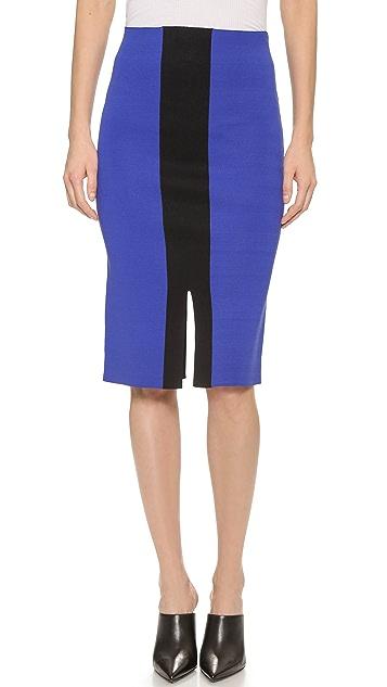 5th & Mercer Colorblock Pencil Skirt