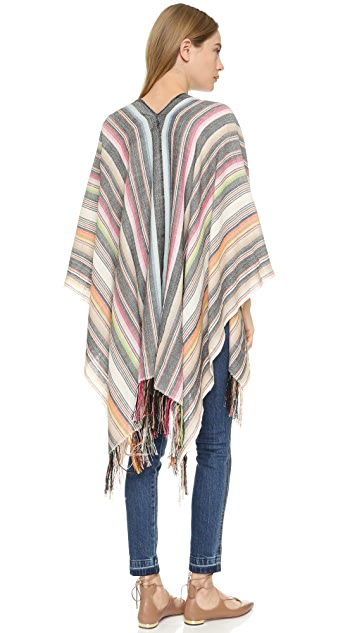 Figue Infinity Stripe Magda Shawl