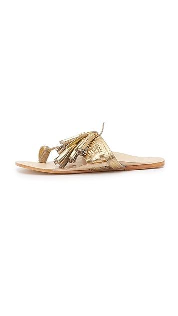Figue Tassel Sandals