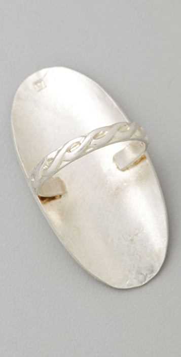 Anna Sheffield Oval Rope Ring