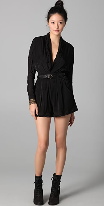 findersKEEPERS Get Real Long Sleeve Romper