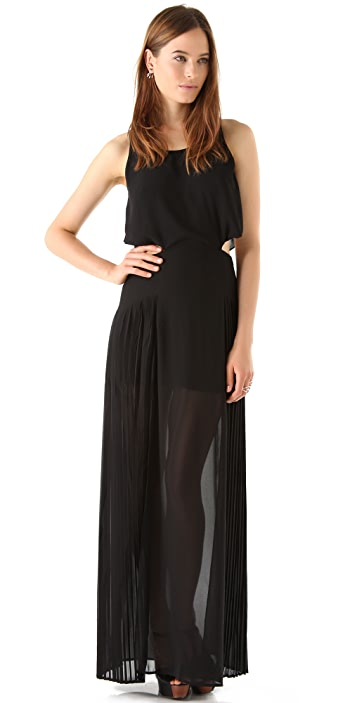 findersKEEPERS Let It Rain Maxi Dress