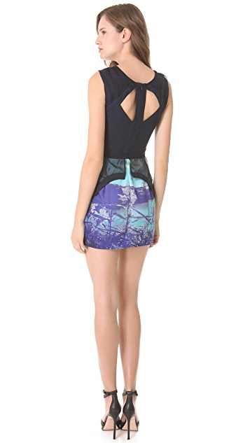 findersKEEPERS Lost for Words Peplum Dress
