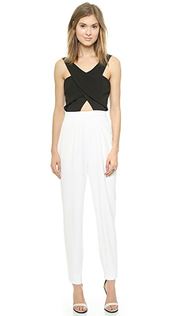 findersKEEPERS Like Smoke Colorblock Jumpsuit