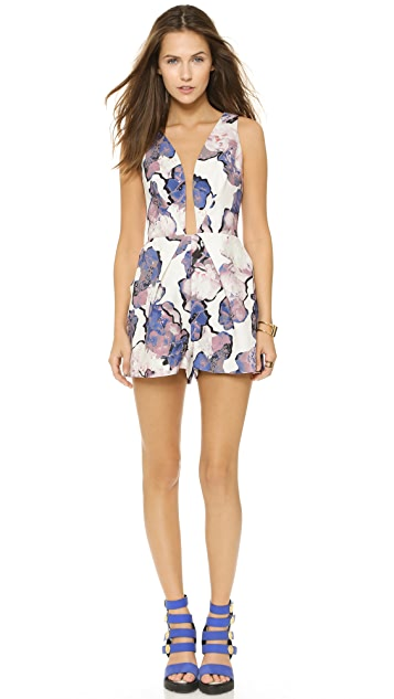 findersKEEPERS The Floral Creation Romper