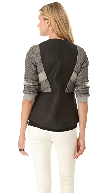 Francis Leon Moonracer Leather Jacket
